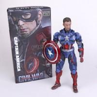 Jual Crazy Toys Civil War Captain America Murah
