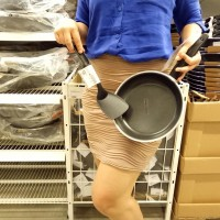 Bonus Sendok Teflon - Frying Pan (Wajan Penggorengan) / Kuali Panci