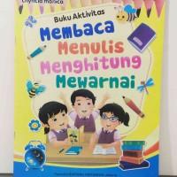 Buku Membaca Menulis Menghitung Untuk PAUD / TK Edukatif Murah Meriah