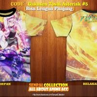Kaos Anime Fullprint : GAKUSEN TOSHI ASTERISK #5