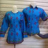 harga Sarimbit Kemeja Baju Pasangan Couple Muslim Batik Katun Tokopedia.com