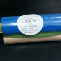 Ribbon thermal wax 110mmx74mm untuk printer label argox,zebra,sato dll