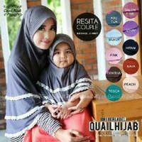 harga jilbab bergo syari set anak ibu resita couple quail hijab Tokopedia.com