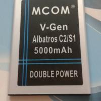 Baterai V-GEN albatros C2/S1 double power mcom