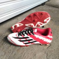 Sepatu Bola Adidas Messi F10 - Red/White/Black