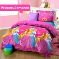 Bedcover Set Katun Jepang Princess Romance 200x200x25