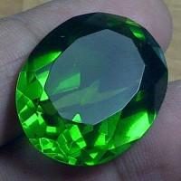 Batu Green Tektite / Meteor Hijau+ Memo