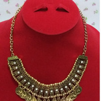 Harga kalung etnik perak bakar krincingan bermata 1113 | Pembandingharga.com