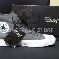Sepatu Converse CT All Star II High Top Original Murah - Grey
