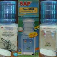 harga SAP SA-2008 Mini Water Dispenser + Galon 5 Liter - Air Panas & Normal Tokopedia.com