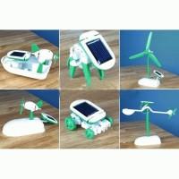 Jual Robot Solar 6 in 1 / Edukasi Merakit Robot / Kits Robot Solar / Robot Murah