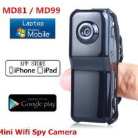 Jual Portable Mini Hd Wifi Camera Md81 P2p & Wireless Murah