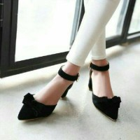 harga High heels gelang hitam Tokopedia.com