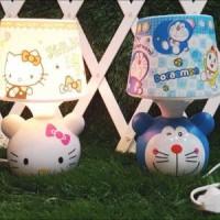 harga Lampu tidur celengan tudung karakter Doraemon Hello kitty Tokopedia.com
