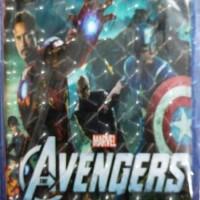 Flip Cover Case Universal Hologram Avengers for Tablet / Tab 7 inch