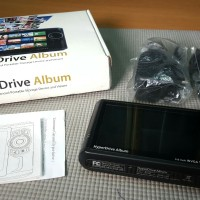 Photo Viewer HyperDrive Album Portable Storage Device