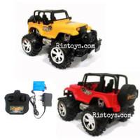 RC Mobil Bigfoot Storm Jeep warna merah