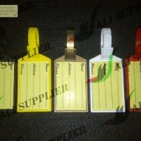 Jual Luggage Tag / Bag Tag / Gantungan Koper / Tas / Pengenal ID Tas Murah
