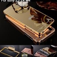 Bumper Mirror Case Sony Xperia Z3+ Z3 Plus Z4/Hardcase/Slide/Hard/Slim