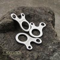 Xtools Carabiner Outdoor Equipment 3 Hole Tying Tool / Alat Bantu Tali