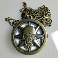 harga Jam Saku Mini Skull 5 Pocket Watch Mini Tokopedia.com