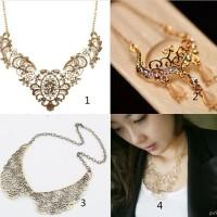 Kalung korea pesta wanita accesories travel jewelry case organizer