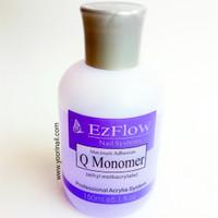 monomer ezflow 150ml acrylic liquid 3d ez flow cairan akrilik nail art