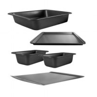 Mini Bakeware Set Big - Isi 5 Pcs - Loyang Mini Set - Loyang Anti Leng