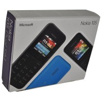 Nokia 105 Resmi 1 tahun Cyan