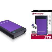 Harddisk External Transcend 2TB usb 3.0 Anti shock