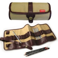 Derwent Canvas Pencil Wrap / Tempat Pensil Derwent