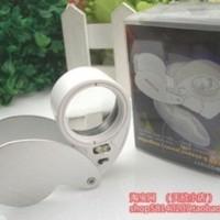Lensa Zoom Pembesar 40x Lup Suryakanta Portable Lensa Cembung Laborat