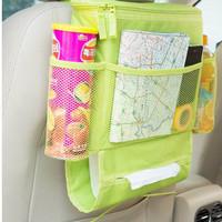 Rak Jok Belakang Mobil Rak Gantung Organizer Minuman & Snack Mobil TOP