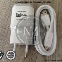 CHARGER LG G2 MINI G3 G4 G FLEX STYLUS 2 K4 K8 K10 1.8A WHITE ORIGINAL