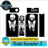 harga Garskin Mod vapor Tesla Invader 3 - vape kemeja Tokopedia.com