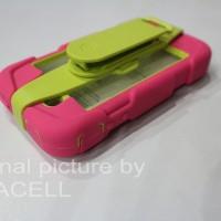 CASE GRIFFIN SURVIVOR IPHONE 4/4S PINK GREEN SERIES