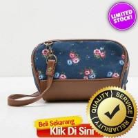 Tas Wanita Fashionable - Nikita Blue Clutch Mini Slingbag [S LarisJaya
