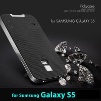 GALAXY S5 SAMSUNG BUMPER BACK COVER CASE SOFT ORIGINAL IPAKY CASING