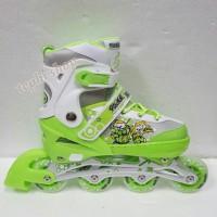 Sepatu Roda Anak Inline Skate Power Skate 7032 - HIJAU (HARGA MURAH)