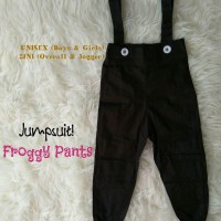 Froggy Pants (Overall n Jogger 2 in 1)