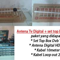 Jual Antena DIgital Set Top Box DVB T2 skybox Murah