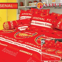 Bed Cover Set Sprei Rumbai Saputra 180 x 200 Arsenal