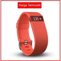 harga Fitbit Charge HR Wireless Wristband Size S - Tangerine - iOS & Android Tokopedia.com