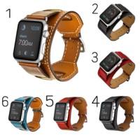 Apple Watch Hermes Cuff Strap 42mm 38mm Genuine Leather Premium qualit