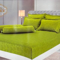 VALLERY Sprei - GREEN(King Size 180x200cm - B2 - T30)