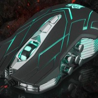 Mouse Game Ghost Shark Aokdis Second Generation 4000 DPI - JS-X9