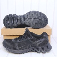 Diskon Sepatu Running Original Reebok Sport Fury Full Black