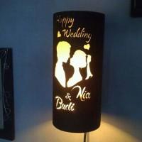 lampu hias unik kado hadiah souvenir buatan tangan sendiri