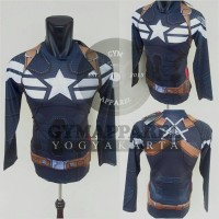 Tshirt Under Armour Captain America Winter Soldier