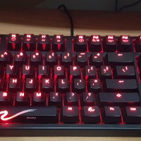 Ducky Shine 3 Cherry MX Brown - Red LED